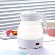 榮事達摺疊式旅行電熱水壺便攜式燒水壺電水壺小型迷妳家用宿舍 極客玩家 ATF 220V