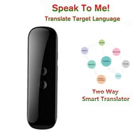 3 in 1 Smart Voice Translator Device Electronic Voice/Text/Photographic Bluetooth Language Instant Translator