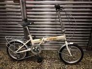 新古車 捷安特Giant fd606 16吋6段變速折疊腳踏車台北市二手腳踏車大賣場line:0960060026