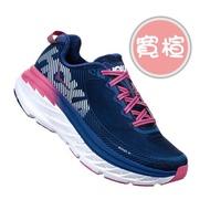 HOKA ONE ONE 18FW 支撐女慢跑鞋 Bondi 5 寬楦 1016605BSTW 贈腿套+襪【樂買網】