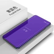 ดูกระจกสมาร์ทเคสโทรศัพท์สำหรับ Xiaomi Redmi Note 7 พลิกกรณียืนหนังฝาหลังสำหรับ Xiaomi Redmi Note 7 Note7