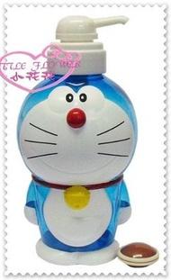 小花花日本精品♥ Hello  Kitty 哆啦A夢小叮噹 擠壓式空罐 沐浴乳空罐   站姿銅鑼燒