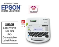 Epson LabelWorks LW-700 PC-Connectable Label Printer ** Free $10 NTUC Voucher Till 2nd Mar 2019 ** LW700