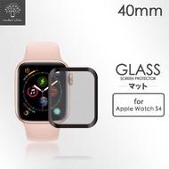 【Metal-Slim】Apple Watch Series 4 40mm(3D全膠滿版鋼化玻璃保護貼)