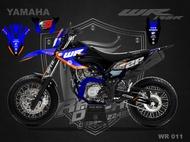 Decal Stiker Yamaha Wr 155 Custom Desain WR 011