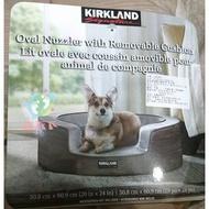 【走天下】Costco 好市多 代購 KIRKLAND 橢圓形寵物床 含內墊 (1入)/寵物床/狗狗用品/狗狗床/全新