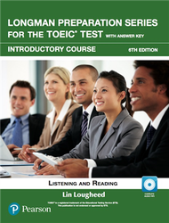 Longman Preparation Series for the TOEIC Test: Introductory Course, 6/E W/MP3,AnswerKey (新品)