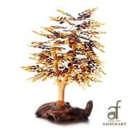 AF AMBER ART 波蘭國寶多色招財琥珀樹