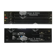 DBX 1231S/XL Dual Channel 31-Band Equalizer Silver or Black