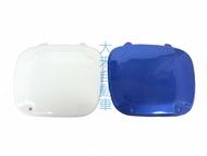 大禾自動車 霧燈蓋 白色 / 寶藍 烤漆 適用 SUBARU 02-07 IMPREZA GDA GDB 圓燈鯊