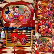飛飛香港迪士尼代購1/16出貨 米奇家族新年奶油曲奇餅乾禮盒 新年送禮禮盒 米奇餅乾鐵盒 迪士尼曲奇新年禮盒 奇奇蒂蒂