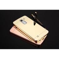 LG G PRO2 邊框 背蓋 鍍金 鏡面 手機殼 手機保護殼