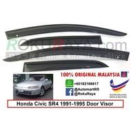 amat disyorkan❂Honda Civic EG SR4 4Door 1991-1995 AG Door Visor(Small 7cm Width)