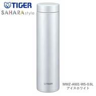 日本Tiger虎牌 輕量 不鏽鋼真空寬口保冷 保溫瓶 水壺 / 奶油白 / 600ML / MMZ-A601-WS /日本必買 日本樂天代購直送 (3230)