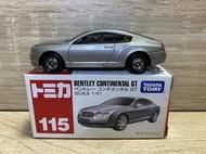 <阿爾法>Tomica No.115 Bentley Continental GT 多美小汽車 合金玩具車
