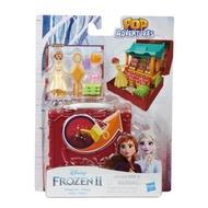 全新 迪士尼公主 冰雪奇緣2 安娜公主 扮家家酒人偶組 玩具屋 鑰匙寶盒造型 玩偶組 小場景組 遊戲 玩具