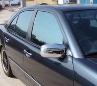 IDFR ODE 汽車精品 BENZ 賓士 E W210  99-02  鍍鉻後視鏡蓋  電鍍後照鏡蓋