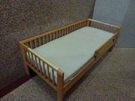 運另+再生二手【自取】IKEA GULLIVER 兒童床架 VYSSA 兒童床墊*看滿意再下標*單人床 青少年床 幼兒床