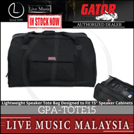 Gator GPA-TOTE15 Heavy-duty Speaker Tote Bag for 15 Inch Cabinets (GPATOTE15)