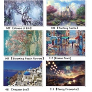 ☢♟[Ready stock]puzzle 1000 pcs puzzles jigsaw puzzle adult decompression creative gift super difficult small educationa