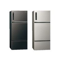 Panasonic國際牌 468公升 鋼板 變頻三門電冰箱 (星空黑) NR-C479HV-K