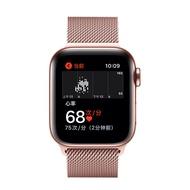 ใช้ IWatch6นาฬิกาข้อมือ AppleWatch สีฟ้าแถบ Milanese แฟชั่น IWatchSE โลหะ Lap SE/5/4/3/2/1รุ่น38/40/42/44มม.สายรัดข้อมือ