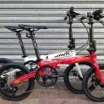 香港行貨 最新款 JAVA X2 9速 16吋 碟剎 鋁合金 摺疊單車 單車