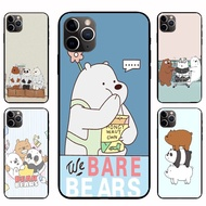 IPhone12 Pro Max 12mini  12 / 12 Pro We Bare Bears Casing Soft Case Cover