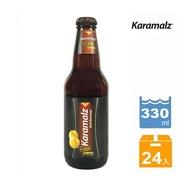 (整箱優惠) 德國Karamalz黑麥汁(檸檬口味)_玻璃瓶裝(330ml / 24罐/箱)