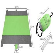 MakeAC Waterproof Foldable Beach Mat Outdoor Blanket Portable Picnic Mat Mattress