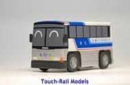 【喵喵模型坊】TOUCH RAIL 鐵支路 Q版迴力車 MCI 96A3 國光號 (QG501)