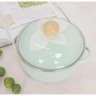 肥龍琺瑯搪瓷密封碗沙拉碗湯碗湯盆保鮮盒湯盆ins風番茄湯鍋