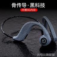 免運游泳耳機骨傳導耳機MP3自帶內存32G骨傳感運動跑步游泳無線藍芽耳機不入