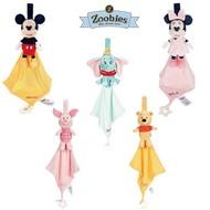 迪士尼 Zoobies正品公司貨 Disney多功能安撫巾 玩偶 寶寶咬咬巾 寶寶安撫巾 寶寶口水巾 米奇 維尼 固齒器