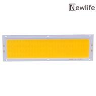 [จัดส่งฟรี + ราคาโรงงาน] 12V 10W แผงบังแดด COB แถบไฟ LED แผ่นเรืองแสงหลอดไฟ120X36mm อบอุ่นสีขาว/สีขาว