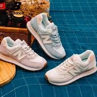 【NEW BALANCE】復古鞋_女鞋_WL574SAY/WL574SUO/WL574SAX_B楦(米白/粉藍/粉紫 3款任選)