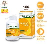 Biolife Nat C Vitamin C 1000mg With Bioflavanoids 150 tablets