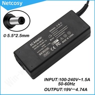 2021-new.m 19V 4.74A 5.5x2.5mm AC Power Supply Adapter Charger For HP Pavilion Monitor 22CWA 22BW 20XI 23CW 23XI 23XW 25ES 25XW 25BW 25XI