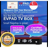 👍SG Stock SG Warranty Certified EVPAD TV BOX 5S / 5P / 3Max+ / Evbox Plus upgraded .