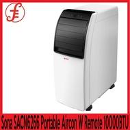 Sona 10000BTU PORTABLE AIRCON sacn6266 Portable Aircon With Remote Control 10000BTU SACN 6266
