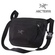 【ARCTERYX 始祖鳥 加拿大】MAKA2 腰包 隨身包 旅行包 護照包 側背包 黑色 (L06599700)