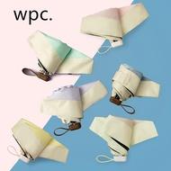 &促銷全場&20日版新款wpc迷你傘便攜輕量口袋傘五折彩膠涂層晴雨傘801-6423