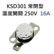 Ksd 301 Regular Closed 250 V 16 A Ceramic Temperature Switch Included