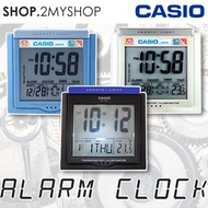 CASIO ALARM CLOCK WITH THERMOMETER  CALENDAR  SUPER BRIGHT LED LIGHT