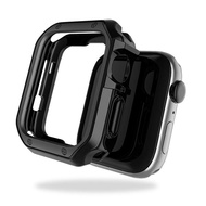 Tpu Anti-drop Plating Shell for Apple Watch 40mm 44mm Series SE 6 5 4 Screen Protector Coverage Case for Apple Watch Series 3 2 38mm 42mm Accessories