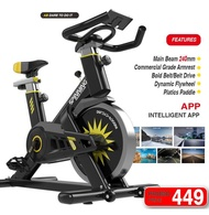 Spinning bicycle exercise bike home bicycle indoor sports bicycle exercise fitness equipment