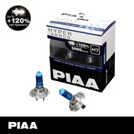 PIAA H7 Hyper Arros 5000K White Halogen Bulb Add On 120% Brightness