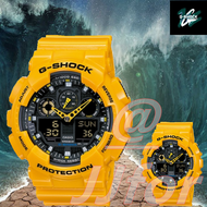 Ga-100A-9Adr Casio G-Shock Rubber รุ่น (Bumblebee Limited Edition) (Yellow)