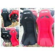 Recaro fully bucket racing seat with car bracket one seat price