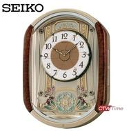 ส่งฟรี!! SEIKO Doll Hi-Fi music wall clock นาฬิกาแขวน รุ่น QXM157B